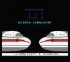 737 Flight Simulator - MSX