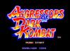 Aggressors of Dark Kombat - Neo Geo-CD