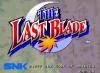 The Last Blade - Neo Geo-CD