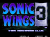 Sonic Wings 3 - Neo Geo-CD