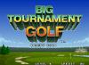 Big Tournament Golf - Neo Geo-CD