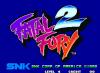 Fatal Fury 2 - Neo Geo-CD