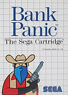 Bank Panic : The Sega Cartridge