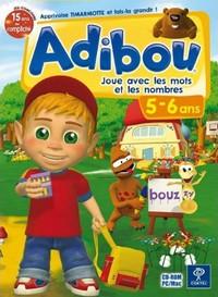 Adibou : Je Joue avec les Mots et les Nombres : 5-6 ans