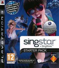 Singstar : Starter Pack + SingStore