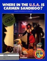 Where in the USA is Carmen Sandiego ?