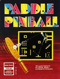 Paddle Pinball