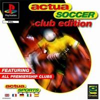 Actua Soccer : Club Edition