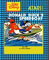 Donald Duck's Speedboat
