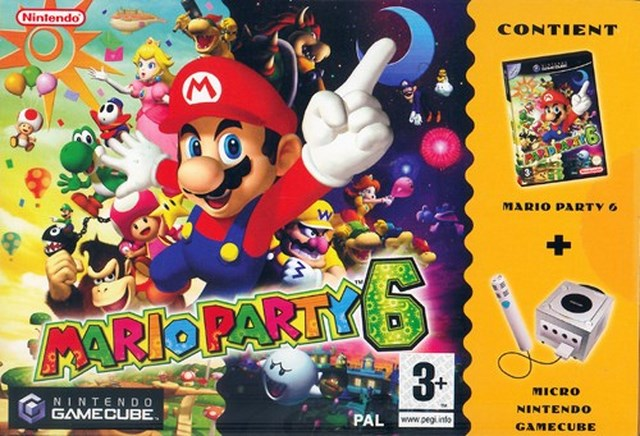 Mario Party 6 + Micro Nintendo GameCube