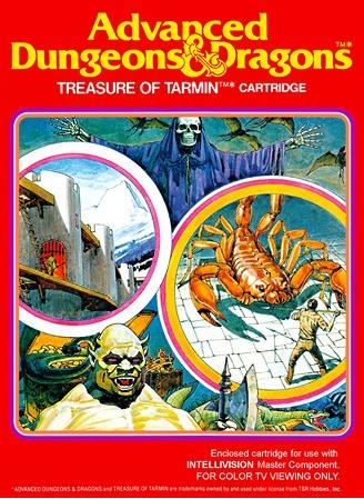 Advanced Dungeons & Dragons: Treasure of Tarmin Cartridge