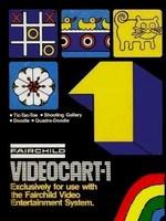 Videocart 01 : Tic-Tac-Toe, Shooting Gallery, Doodle, Quadra-Doodle