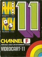 Videocart-11 : Backgammon, Acey-Deucey