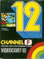 Videocart-12 : Baseball