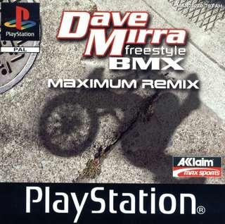 Dave Mirra Freestyle BMX : Maximum Remix