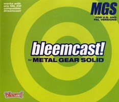 bleemcast ! for Metal Gear Solid