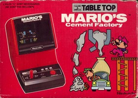 Mario's Cement Factory - Table Top