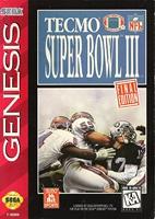 Tecmo : Super Bowl III - Final Edition