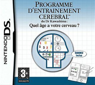 Programme d'Entrainement Cérébral du Dr Kawashima : Quel Age a Votre Cerveau ?