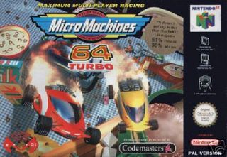 MicroMachines 64 Turbo