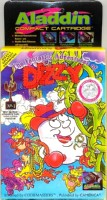 The Fantastic Adventures Of Dizzy - Aladdin Compact Cartridge