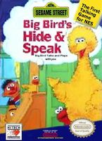 Sesame Street : Big Bird's Hide & Speak