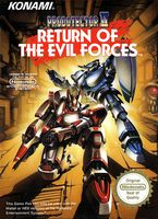 Probotector 2 : Return of The Evil Forces