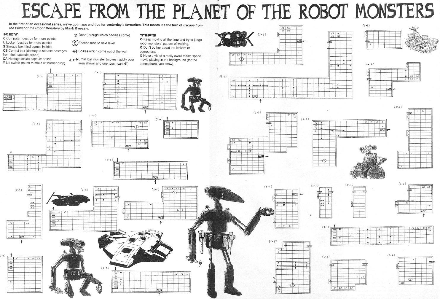 robot escape the