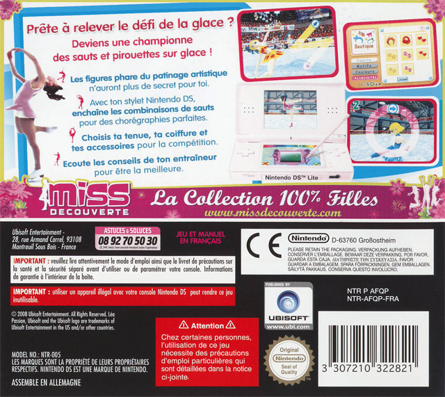 lea passion patinage nds