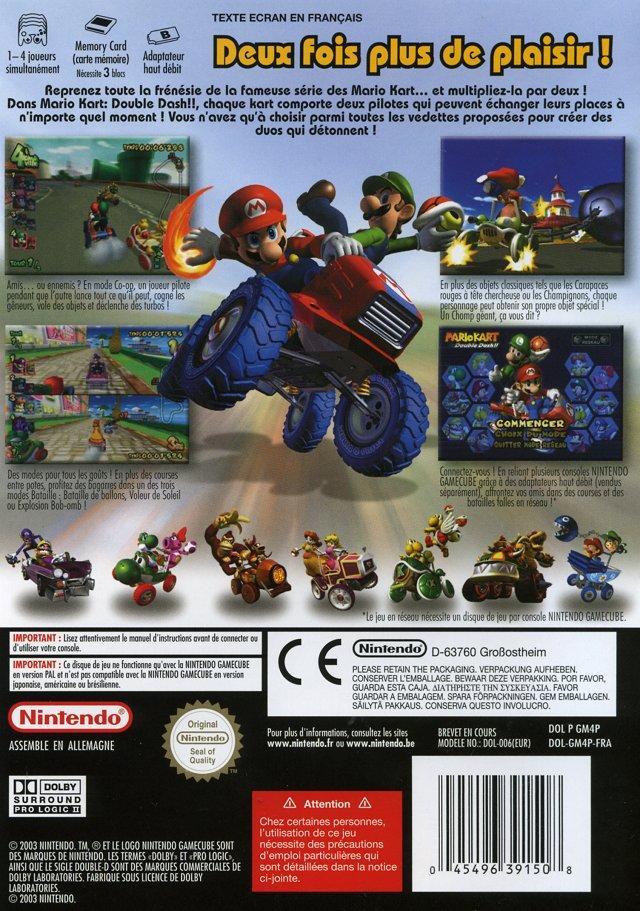 Mario Kart : Double Dash !! sur GameCube - 1 - images, jaquette