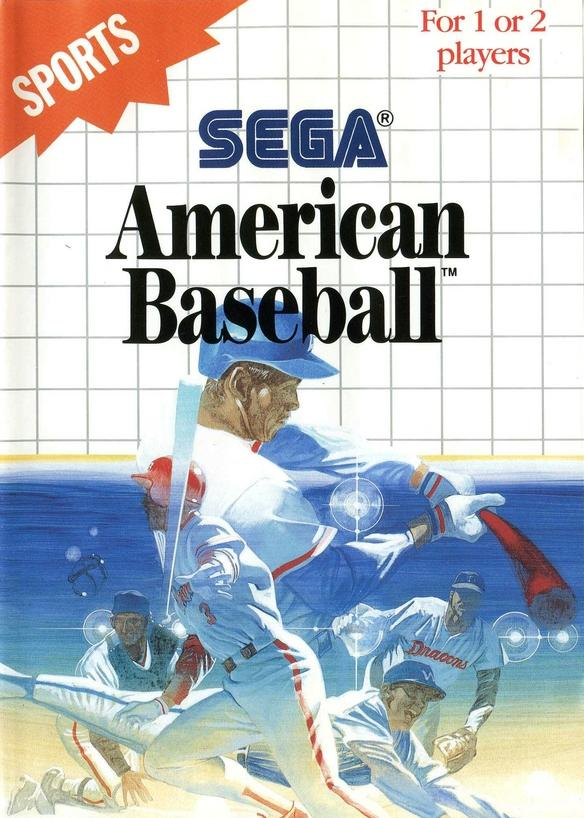 Jeu video American Baseball sur Master-System - 0 - images, jaquette