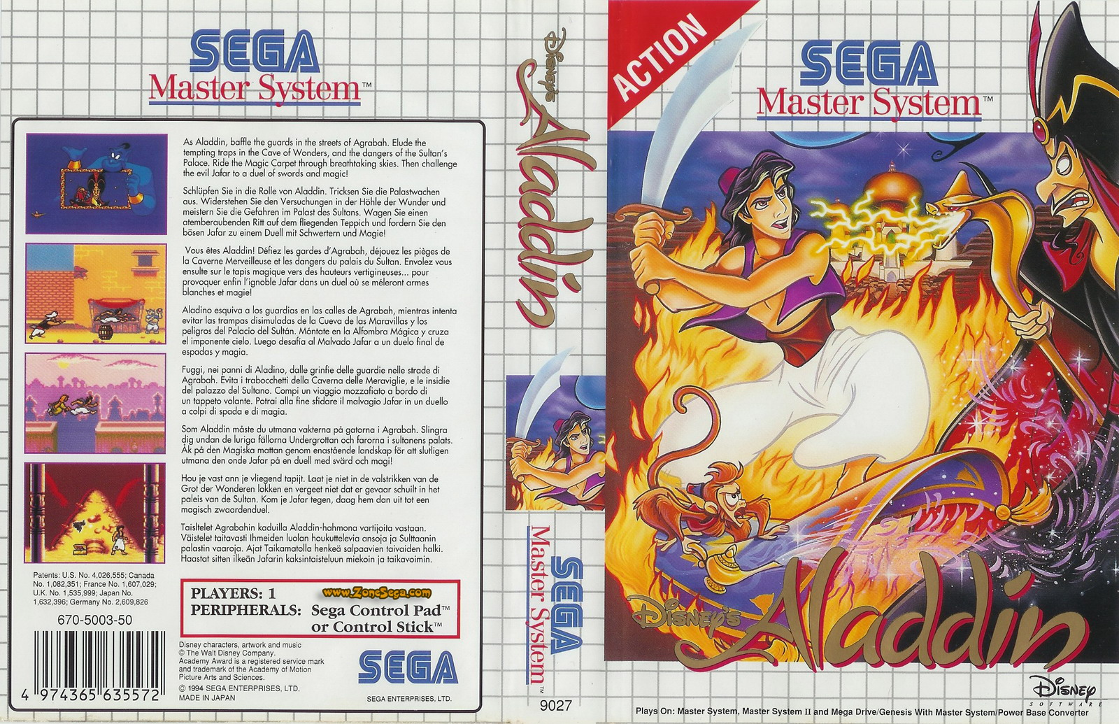 Jeu video California Games 2 sur Master-System - 6 ...