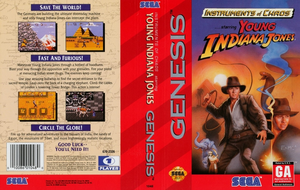 Instruments of Chaos Starring     Young Indiana Jones sur