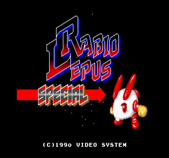 Rabio Lepus Special sur PC-Engine Hu-Card - 3 - images