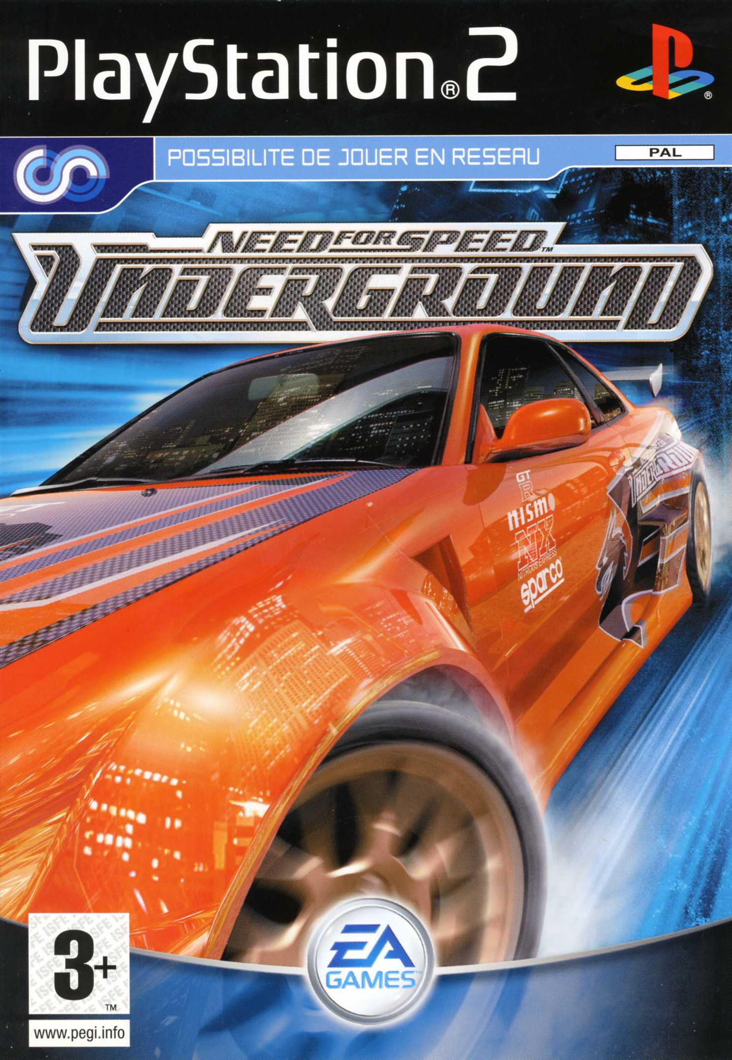 Need for speed underground sur ps2 0 images jaquette - Need for speed underground 1 wallpaper ...