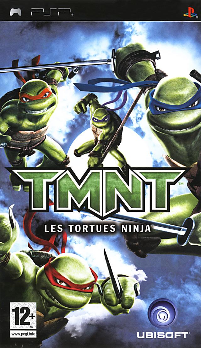 Jeu video TMNT : Les Tortues Ninja sur PSP - 0 - images, jaquette