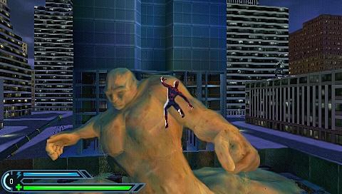 Jeu video Spiderman 3 sur PSP - 5 - images, jaquette, scans