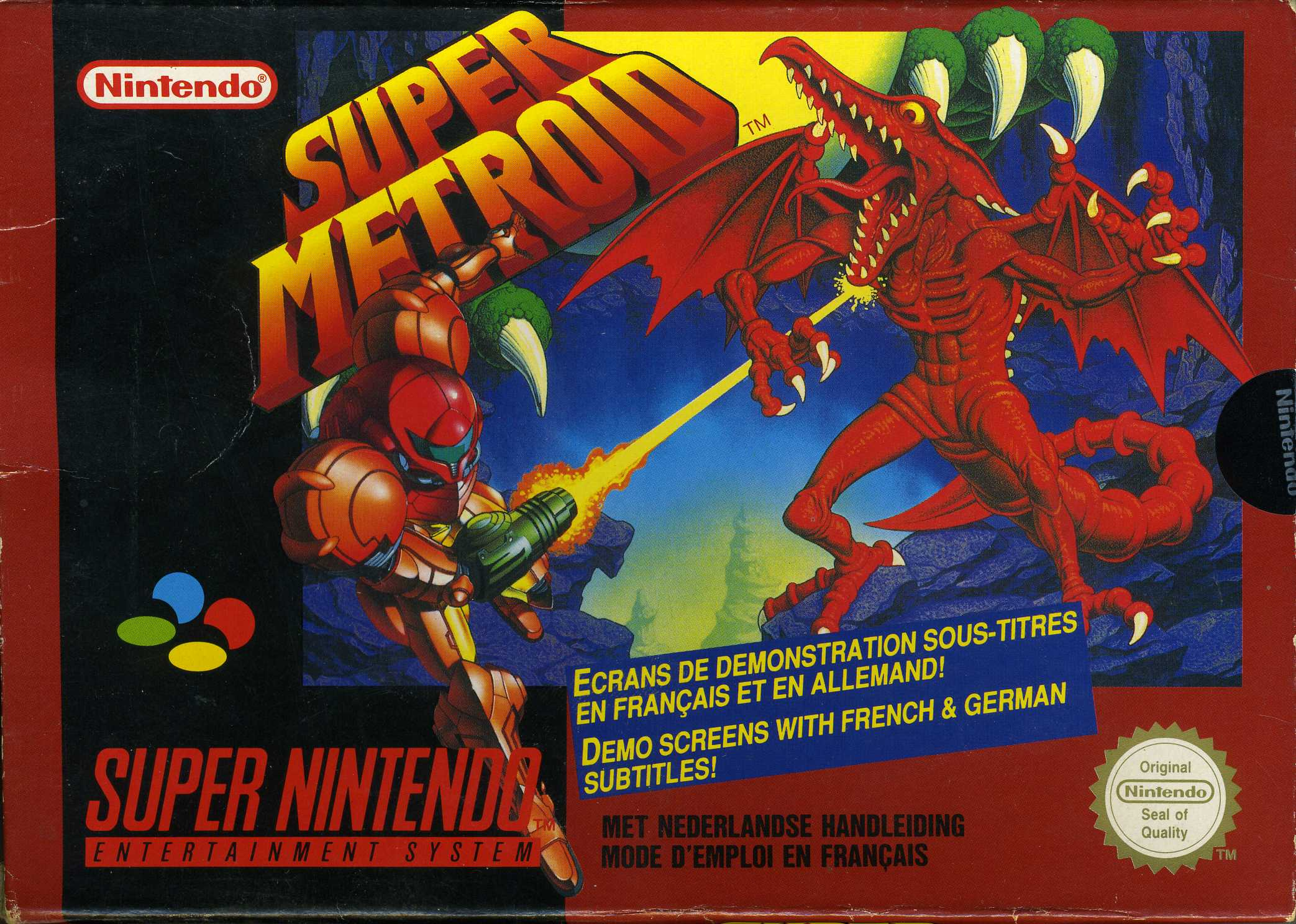 Jeu video Super Metroid sur SNES - 0 - images, jaquette, scans