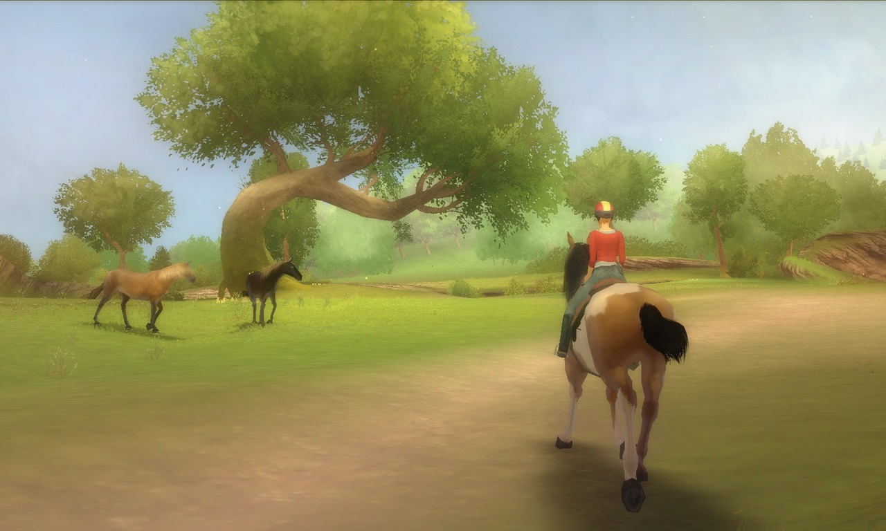 video Alexandra Ledermann : La Colline aux Chevaux Sauvages sur Wii