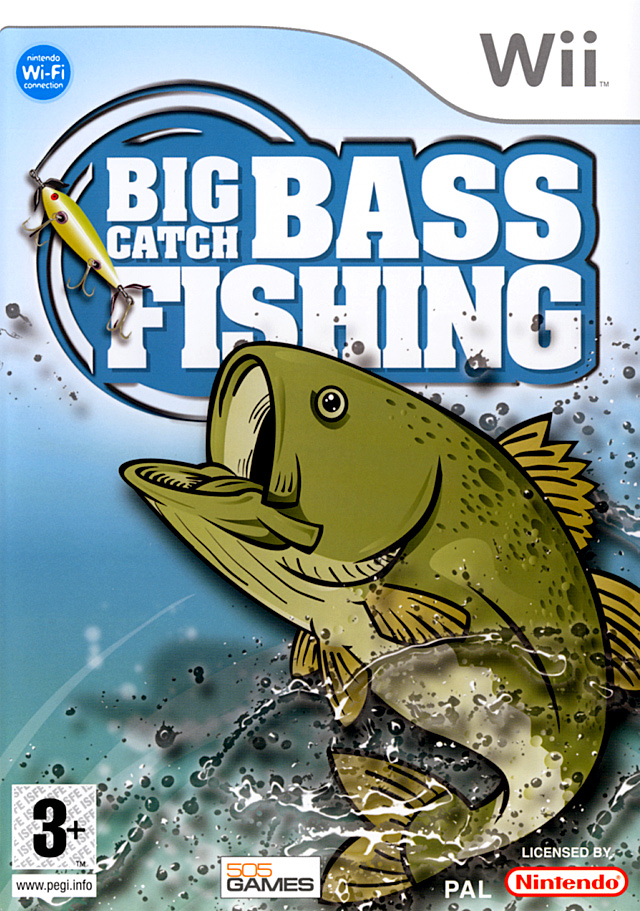 Jeu video Big Catch Bass Fishing sur Wii - 0 - images ...