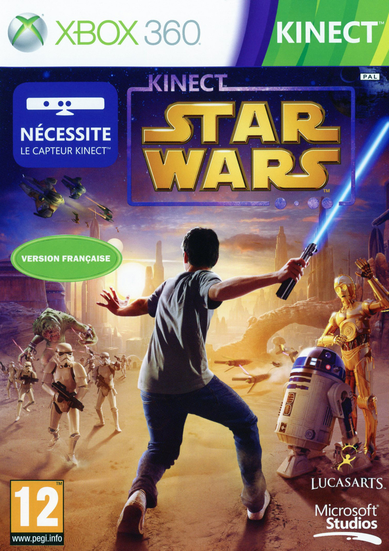 Xbox kinect star wars out today! Jedi news broadcasting star.