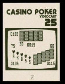Videocart-25 : Casino Poker
