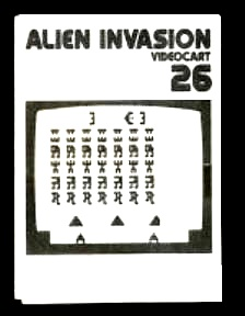 Videocart-26 : Alien Invasion