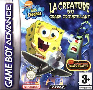 Bob l'Eponge : La Créature du Crabe Croustillant GBA